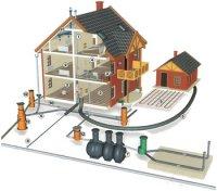 Проекты домов с коммуникационными системами