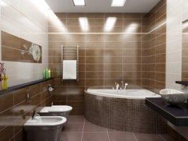 Строительство ванной комнаты в квартире