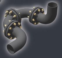 Резиновые отводы для трубопроводов