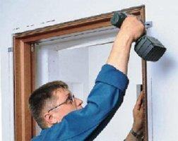 Самостоятельный монтаж межкомнатных дверей