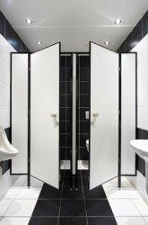 Перегородки для обустройства туалета