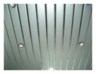 Алюминиевый реечный потолок в ванной
