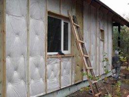 Утепление дома при помощи пеноплекса